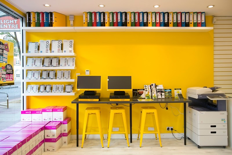 Yellow Print Shop