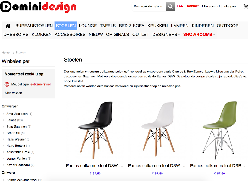 Eetkamer Stoel Eames.Dominidesign Bark Profile And Reviews