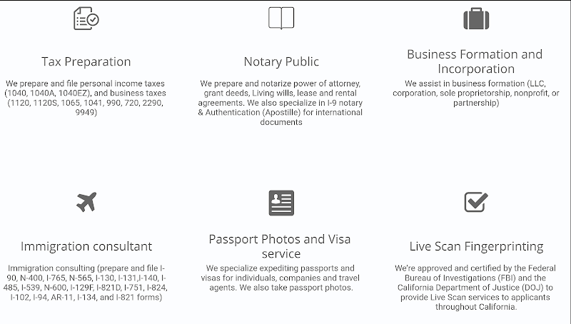 Walia Tax Immigration Live Scan Notary Public Bark Reviews