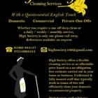 High Society Cleaning Service