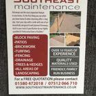 Southeast maintenance