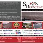 SD Contractors logo