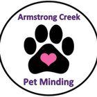 Armstrong Creek Pet Minding logo