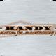 THE HANDY LAD logo