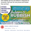 Adams Rubbish removals profile image