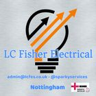LC Fisher Electrical services  logo