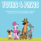 Tours 4 Paws logo