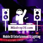 MicDrop Productions logo