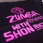 Zumba WITH SHON Richard logo