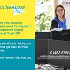 ServiceMaster Clean Contract Services Guildford logo