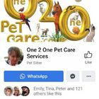 One2One Pet Care Services logo