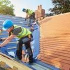 ADVANCED ROOFING & GUTTERS logo