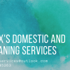 Alex's cleaning and domestic services profile image