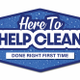 Here To Help Clean logo