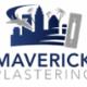 Maverick Plastering logo