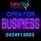 Everclear Window Cleaning logo