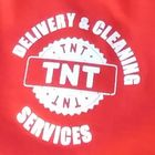 TNT Delivery and Cleaning Services logo