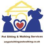 Any Pet Sitting and Walking logo