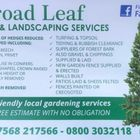 Broadleaf tree & landscaping Services logo