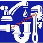 1ST CLASS PLUMBING logo