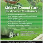Kirklees ground care logo