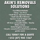 AKIN'S REMOVAL SOLUTIONS logo