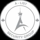A-List Security Group Inc. logo