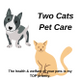 Two Cats Pet Care logo
