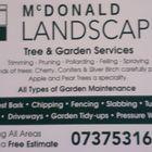MCDONALD LANDSCAPES logo