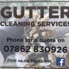 Gutter cleaning service logo