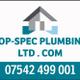 Top-spec plumbing ltd logo