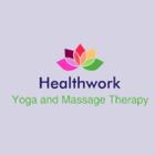 Healthwork Yoga and Massage Therapy logo
