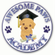 Awesome Paws Academy logo