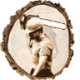 A G D J BROWN FORESTRY CONTRACTORS logo