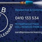 S & B PRESSURE CLEANING logo