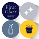 First Class Cleaning Co logo