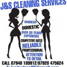 J and S Cleaning Services logo