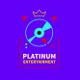 Platinum Entertainment logo