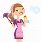 Just Cleaned Home Cleaners logo