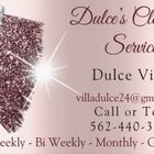 Dulce's Cleaning Service logo