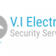 V.I Electrical Security Service logo