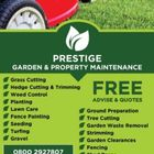 Prestige Landscaping logo