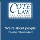 Cote Law Professional Corporation logo