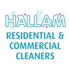 Hallam Residential And  Commercial Cleaners logo