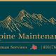 Alpine Maintenance Handyman Services logo