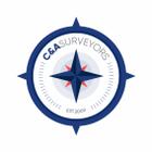 C&A Land Surveyors logo