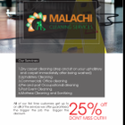 Malachi Cleaning Services logo