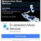 D-Jeneration Music Services logo