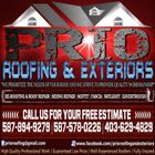 PRIO ROOFING & EXTERIORS logo