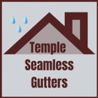 Seamless Gutters of Temple logo